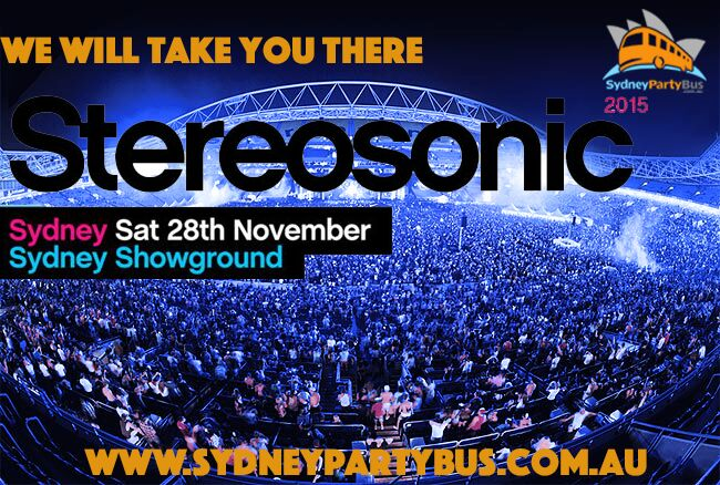 Sydney Party Bus goes STEREOSONIC!