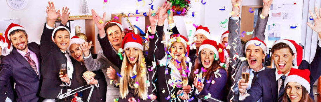 Corporate Christmas Events and end of year party ideas!