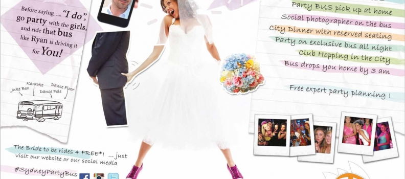 Sydney Wedding Magazine – The Bride to be Rides for FREE
