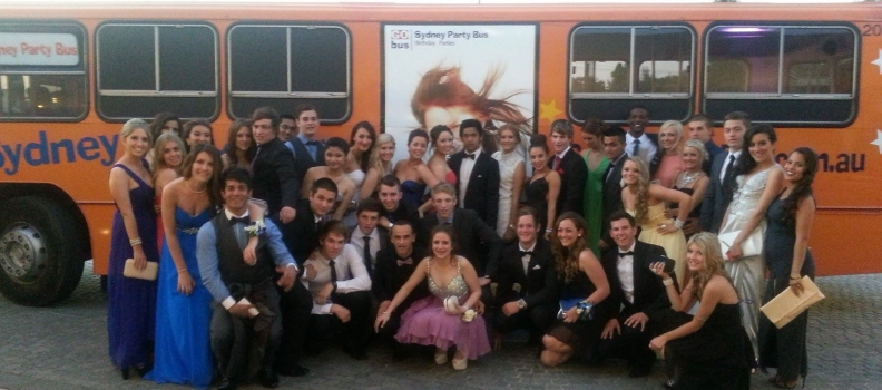 Dance your way into your formal with Sydney Party Bus!